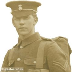Corporal Thomas H Parker, 2nd Battalion Royal Welsh Fusiliers, killed in action 6 November 1916.