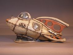 tim storey teapots: another spaceship teapot