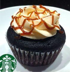 Caramel Macchiato Cupcakes (Chocolate Espresso Cupcake with Espresso Cream Filling and Caramel Buttercream Frosting!)