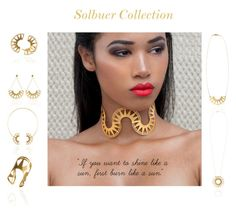 """""""Solbuer by Desperate Jewelry"""" by blingsense on Polyvore"""
