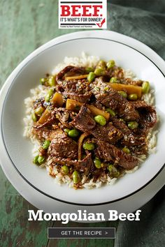 It takes just 20 minutes to prepare this flavorful and satisfying Top Sirloin Steak stir-fry. Easy Chinese Recipes, Asian Recipes, Oriental Recipes, Oriental Food, Asian Foods, Meat Recipes, Cooking Recipes, Healthy Recipes, Healthy Tips