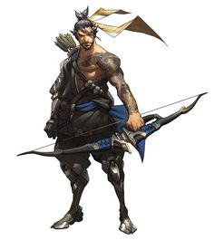 ArtStation - Overwatch - Hanzo Concept, Arnold Tsang