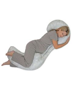 It's no dream: This full-body pillow will ease your aches and pains, helping you get some quality sleep. Click above to buy one.