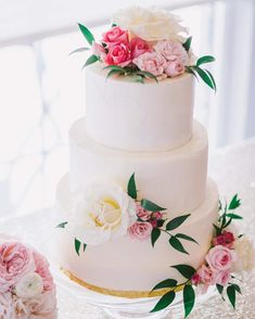 Blooms Florist, Pretty Wedding Cakes, Our Wedding, Weddings, Simple, Desserts, Food, Tailgate Desserts, Deserts
