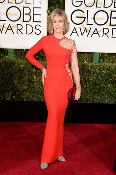 Golden Globe Awards 2015: Jane Fonda She looks fabulous at any age...we all hope to look this hot at 77!