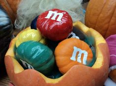 No-Carve Pumpkin Decorating Ideas- perfect for NEXT Halloween costumes :)  Accessories for the house!