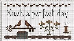 sub rosa: Such a perfect day...- Free pattern