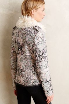 Paisley Moto Jacket - anthropologie.com
