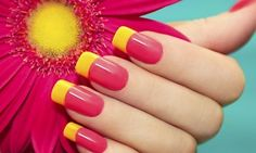 Groupon - Up to 53% Off Shellac mani pedi at The Aria Nail Spa & Salon in Harlingen. Groupon deal price: $35