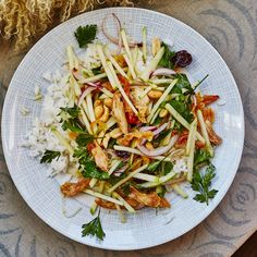 Now that you know how to crisp up chicken after making this salad recipe, you'll be able to use the technique in lots of different ways, but our favorite is to stuff it in a taco or pita for a shawarma-y meal. Check out <a href=