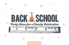 For our last week of Operation Summer Fun, it's time to throw a back to school party for your kids, and we have back to school party ideas to make your celebration a blast! #operation #summer #backtoschool