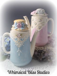 Whimsical Bliss Studios - Sisters Teapots