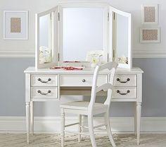 Blythe Desk and Mirror Vanity Hutch #pbkids