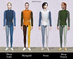 Mod The Sims - Italian Renaissance Romeo Costumes