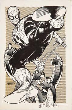 Spider Man by Michael Golden