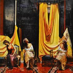 "Saatchi Art Artist Marco Ortolan; Painting, ""The rest of the Gypsies"" #art"