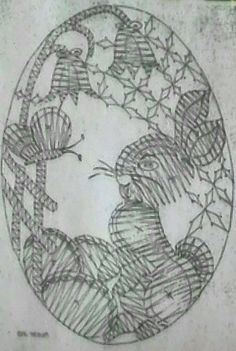 Bobbin Lacemaking, Lace Patterns, Easter Eggs, Diy And Crafts, Projects To Try, My Favorite Things, Fun, Bobbin Lace, Animaux