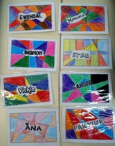 Etiquettes pour porte-manteaux Ecole Art, Art Plastique, Education, Clothes Racks, Learn Math, Desk Pad, Back To School, Onderwijs, Learning