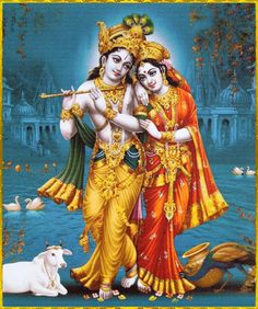 ✨ RADHA KRISHNA ✨ http://careforcows.org/ Hare Krishna Hare Krishna Krishna…