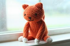 Cute kitty amigurumi - free pattern