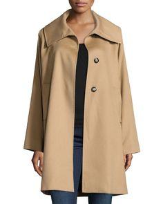 The Jane Cashmere Coat, Black