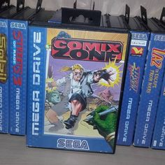 On instagram by retrogamegeeks #segagenesis #microhobbit (o) http://ift.tt/2cufmqI OF THE DAY - COMIX ZONE: Sega take you into a comic book as you are transported into the fight of your life. Run from frame to frame battling enemies in order to escape and save not just the comic universe but the real world as well. #sega #retrogames #retrogamegeeks #retro #retrogaming #segagram #segalife #megadrive #genesis  #comics #comic #games #gaming #gamers #gamestagram #videogames #instagaming…