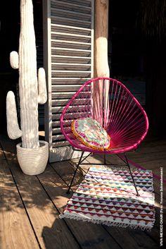 Original Mexico Chair aus Acapulco. Foto: Yvonne Schmedemann