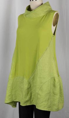 Lime Tunic – Marcy Tilton Vogue 9112... from blog West Zen Studio