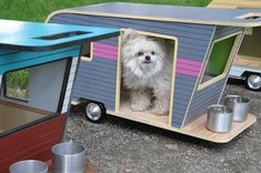 Now Your Pooch Can Have His Own Retro Camper, Too - GoodHousekeeping.com