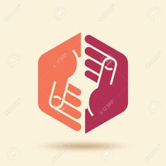 Vector Icon Teamwork Concept Royalty Free Cliparts, Vectors, And Stock Illustration. Image 37109446.