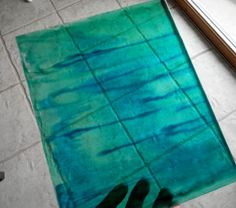 Mod Podge and food coloring Stain Glass Projects
