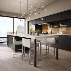 With the improvement of people's living standards, kitchen design has become one of the focuses of modern home design. The kitchen is not only the… Home Decor Kitchen, Kitchen Dining, Kitchen Ideas, Kitchen Cabinets, Diy Kitchen, Kitchen Layout, Awesome Kitchen, Kitchen Hacks, Kitchen Countertops