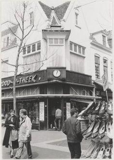 Haarlem 1985 Grote Houtstraat 140. Dekkers Brood-O-Theek