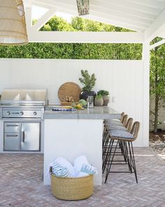 Really want to create an outdoor kitchen.