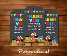 Thank You Labels, Thank You Tags, Thank You Notes, Printable Invitations, Birthday Invitations, Printables, Toy Story Birthday, 4th Birthday, Bowling Party