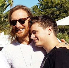 Martin Garrix and David Guetta #martingarrix
