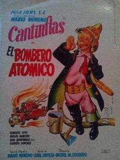 El bombero atomico. cantinflas. posa films. s.a