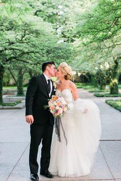 Art Institute Wedding Photo.