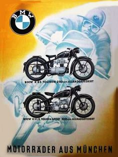 Vintage Motorcycle -                                                      'Motorcycles from Munich'