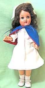 The Ideal Toni doll was also used for the Miss Curity Nurse doll.