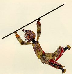 Monkey King in Chinese shadow play http://www.easytourchina.com/blog-v1225-a-cultural-journey-to-china-for-chinese-shadow-play