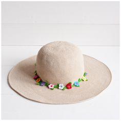 Crochet summer hat from @knit_maniac