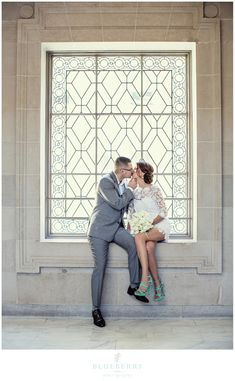 San Francisco City Hall Weddings are always such fun! Loved taking pictures of these two!