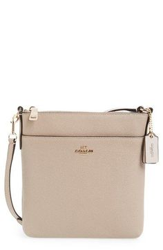 coach crossbody bag outlet 9t5p  COACH Leather Crossbody Bag