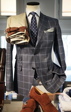 Windowpane pattern, one of many suit patterns. http://www.moderngentlemanmagazine.com/mens-suit-patterns/