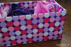 Decorate Diaper boxes