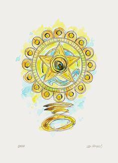 Image result for simbolo de oxum