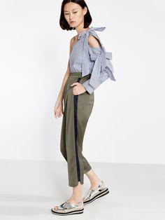 Yuka Side Stripe Pants