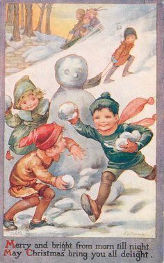 Christmas Vintage ~ A.L. Bowley