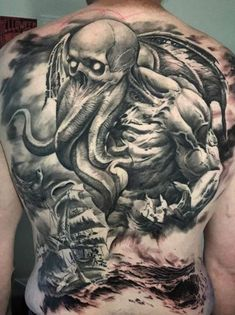<<Check out the tattoos  #tattoomenow #tattooideas #tattoodesigns #back #fullback Back Tattoos For Guys, Full Back Tattoos, I Tattoo, Tattoo Designs, Sketches, Men, Drawings, Check, Ideas